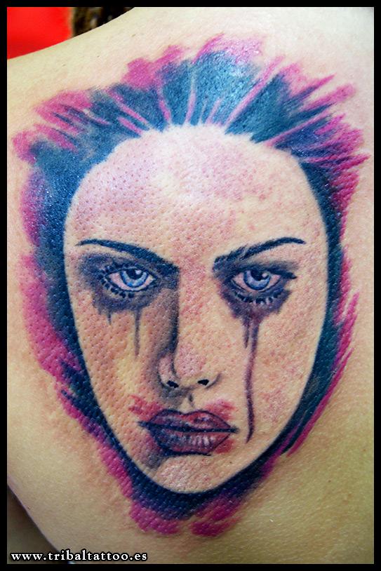 tattoo cara gotica